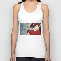 stiles Tank Tops featuring stiles by kala
