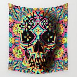 Fancy Skull Wall Tapestry