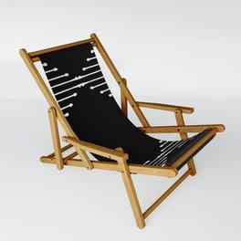 Geo / Black Sling Chair