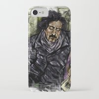 tim burton iPhone & iPod Cases featuring Mr. Burton by Carol Wellart