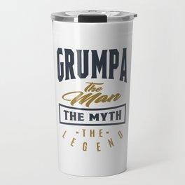 Gift for Grumpa Travel Mug