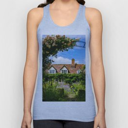 Cottage garden. v2 Unisex Tank Top