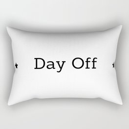 Day off X Rectangular Pillow