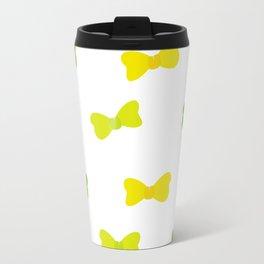 Bow Tie Pattern Travel Mug