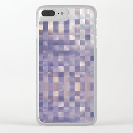Checkerboard Sky Clear iPhone Case