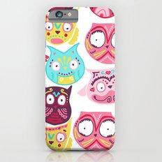 Ornate Owls Slim Case iPhone 6s