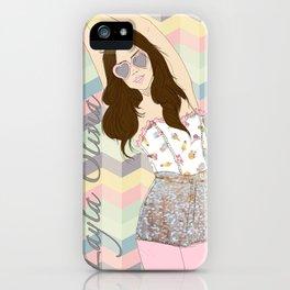 Layla Love iPhone Case