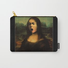 Caravaggio's Mona Lisa Carry-All Pouch