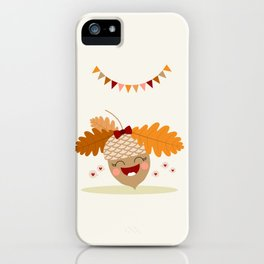 Gland orange iPhone Case