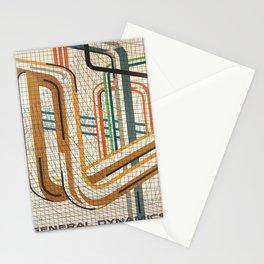 vintage Plakat general dynamics industrial gases Stationery Cards