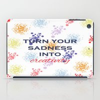 creativity iPad Cases featuring Creativity by Roxana C.