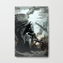 Spilt Milk Metal Print