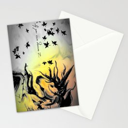 Dreams can be real. Stationery Cards