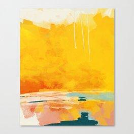 sunny landscape Canvas Print