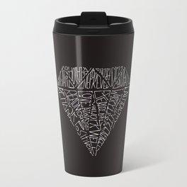 Black Diamond 14 Life Quotes Travel Mug