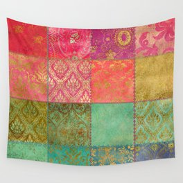 Royal Patchwork Wall Tapestry