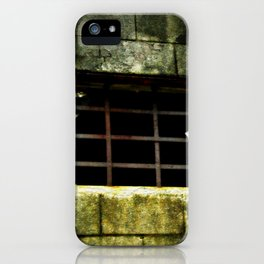 The Gradual Death Of Confinement Behind Bars iPhone Case