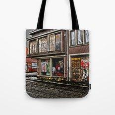 Ghost town Doel in Belgium  Tote Bag