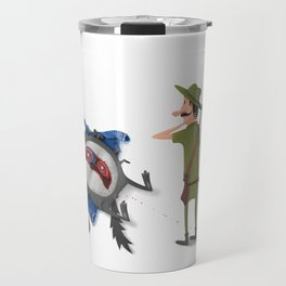 The False Grandmother Travel Mug