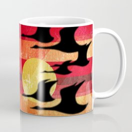Sunset Migration Coffee Mug