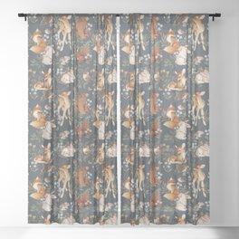 Woodland Dreams Sheer Curtain