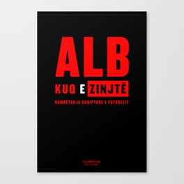 Euro Cup 2016: Albania Canvas Print