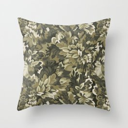 CAMOUFLAGE Throw Pillow
