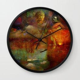 The fall of the Roman Empire Wall Clock