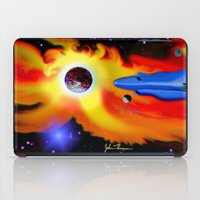 spaceship iPad Cases featuring Spaceship by JT Digital Art