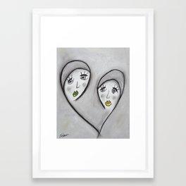 Lillie & Millie Framed Art Print