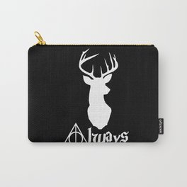 HP Always with Stag (White) Carry-All Pouch