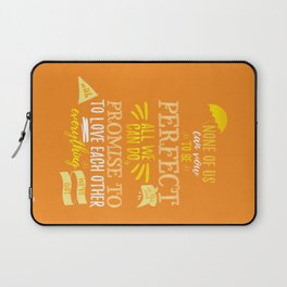 Love is the best thing we do Laptop Sleeve