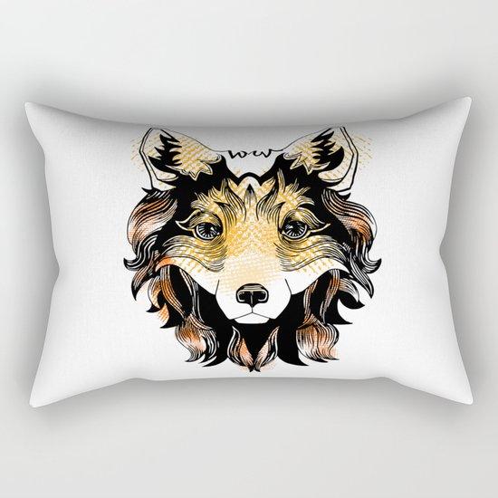 Foxy Rectangular Pillow