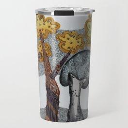 Autumnal Grove Travel Mug