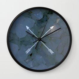 crossed quartz Wall Clock