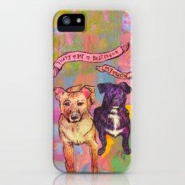 Bestie + Palette iPhone Case