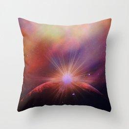 Mars rises Throw Pillow