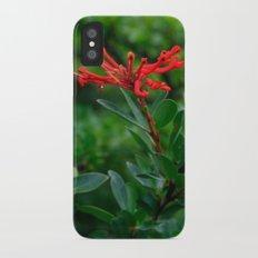 Notro flower in cucao chiloe iPhone X Slim Case
