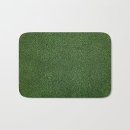 Bright Lush Green Grass Bath Mat