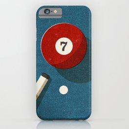 BILLIARDS / Ball 7 iPhone Case