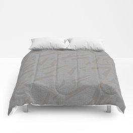 motif gris Comforters