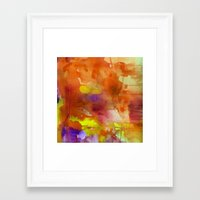 rose gold Framed Art Prints featuring Rose Gold  by ariesmoon