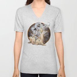 Ritual Candles Unisex V-Neck