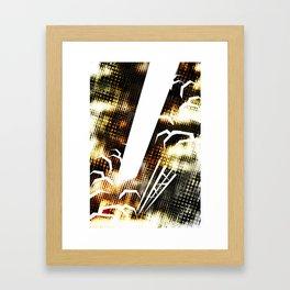 SpaceX Celebration Framed Art Print