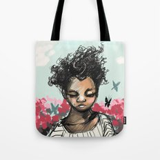 The Most Beautiful Flower Tote Bag