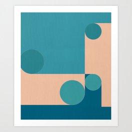 Social Distancing 2 Art Print