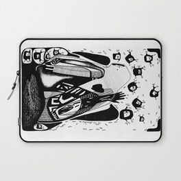 The you-Emilie Record Laptop Sleeve