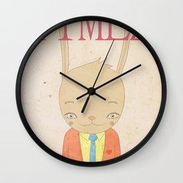 TIMEZ MAGAZINE HUG Wall Clock