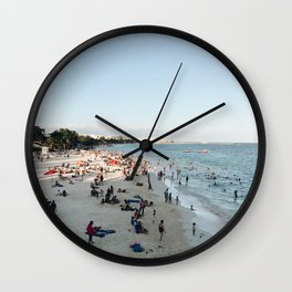 Playa Del Carmen Wall Clock