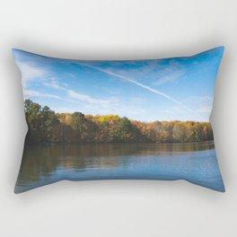 fall reflection Rectangular Pillow